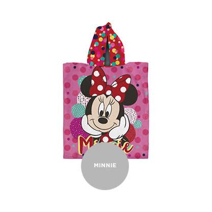 Poncho Con Capucha Linea Disney