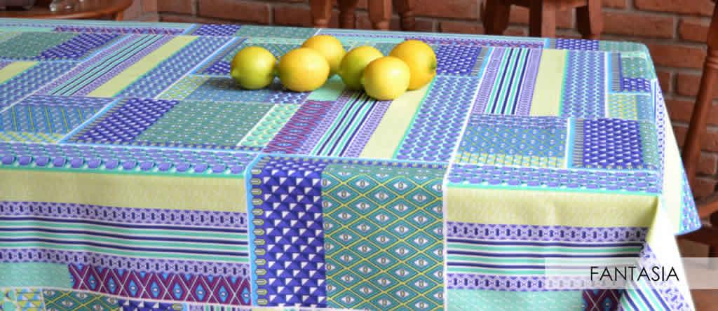 Mantel Cuadrado Antimanchas Stabic - 180cm x 180cm