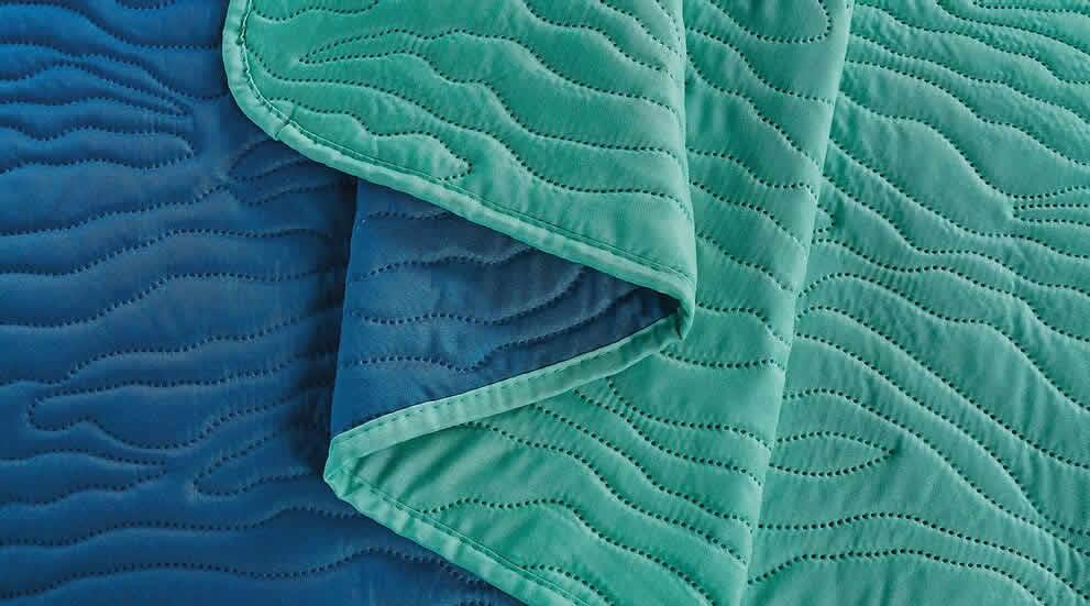 Cubrecamas 2 1/2 Plazas Bicolor Kavanagh